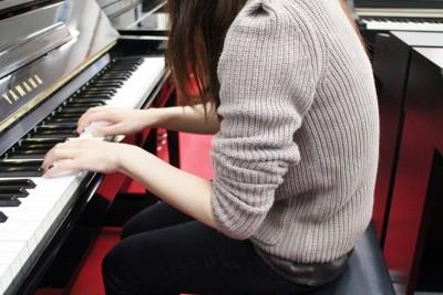 ピアノ姿勢