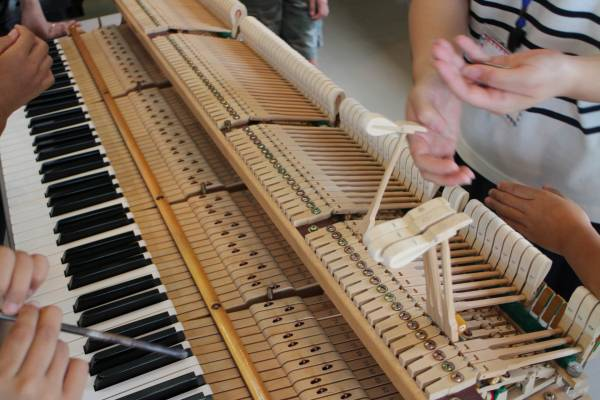 ピアノ調律分解