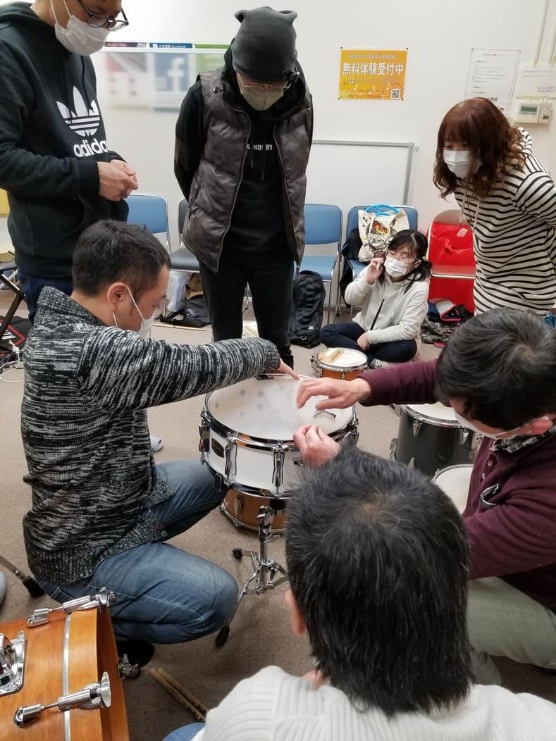 ドラムチューニング講座2